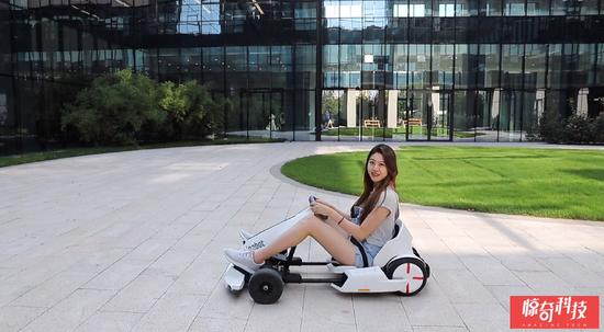 Ninebot九号卡丁车套件体验:回头率百分百的富人玩具