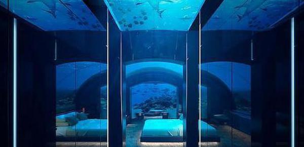 住在35万元一晚的海底别墅是什么感觉?