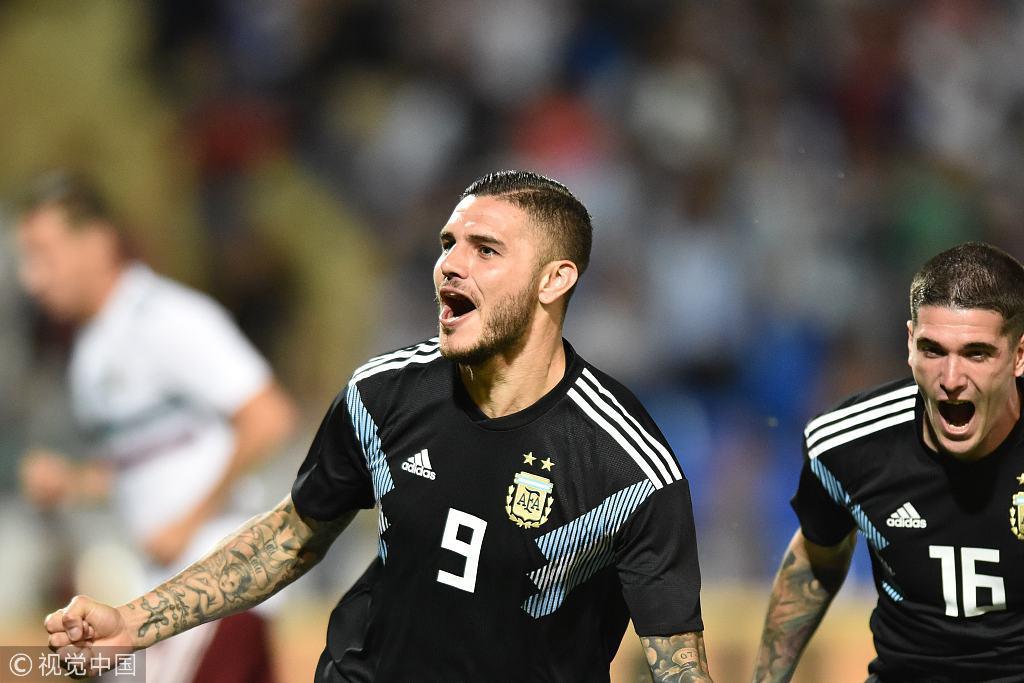阿根廷最缺的能喷火的龙 熬5年终入首球!梅西式一幕