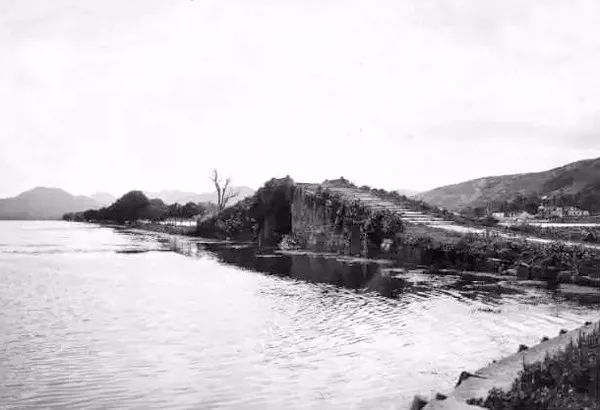 杭州罕见美照曝光,第一次知道百年前的断桥是这样