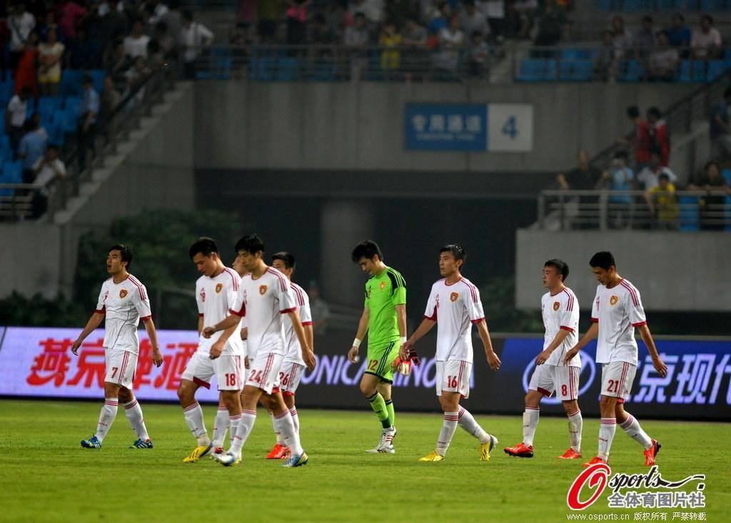 耿晓峰在国足比赛中