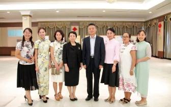 国侨办领导慰问湘潭在泰外派教师