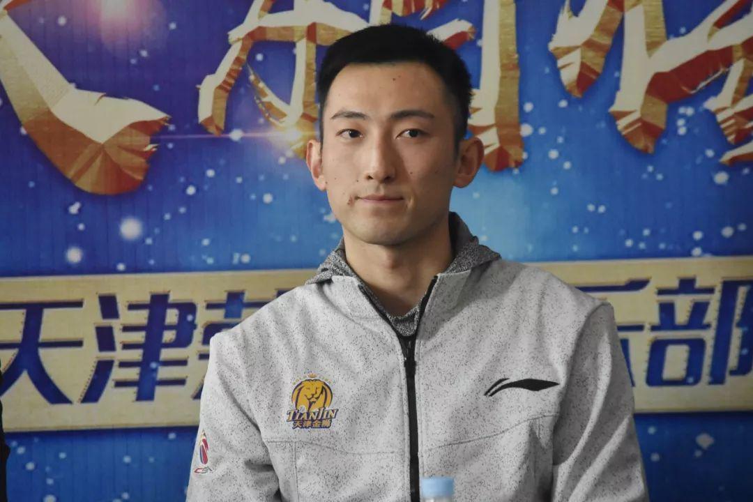 新赛季发布会孟祥龙被任命为天津队队长