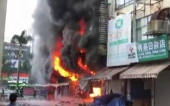 辟谣| 微信疯传海口秀英小街商铺着火 消防辟谣:并未发生火灾