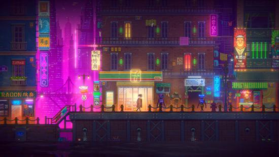 国产像素解谜游戏《迷雾侦探》试玩:用细节筑造迷幻未来