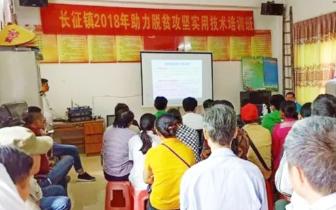 长征镇:强化技术培训扶贫扶志养殖