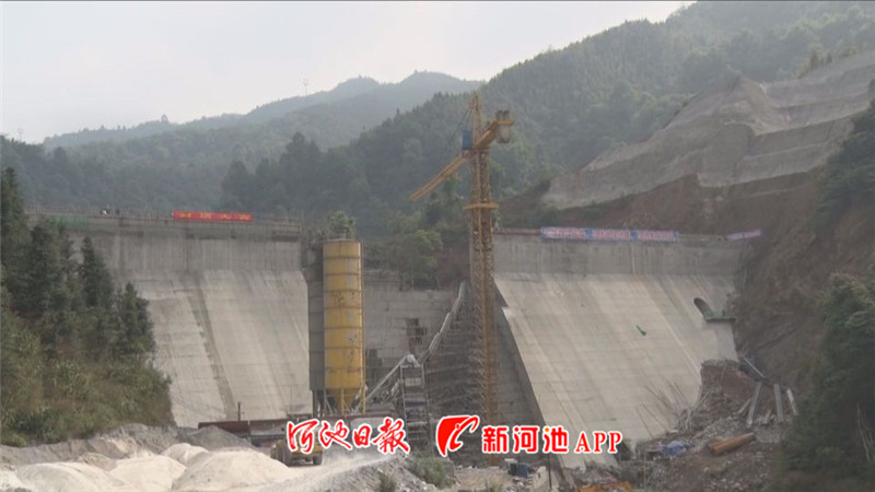 河池市凤山县投入1.35亿多元开展水利冬修