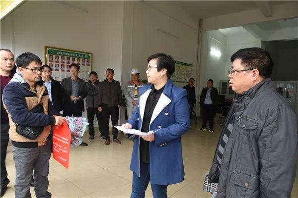 区委书记翟红玲检查指导同福移民安置区建设工作