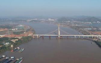 湘潭市 湘潭市昭华湘江大桥进入收尾阶段 预计年底通车