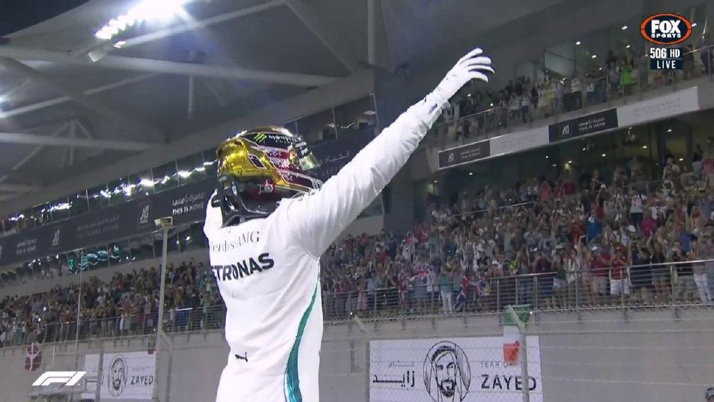 F1阿布扎比站小汉史诗级一圈夺杆 梅奔再揽头排