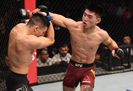 宋亚东:我的目标是UFC雏量级冠军 希望2年内实现