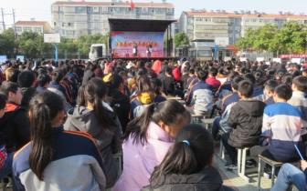 2018年度孝感平安法治文化基层行文艺巡演进新铺