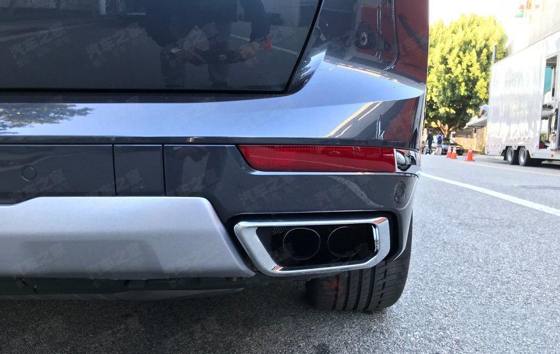 将于洛杉矶车展发布 宝马X7实车曝光