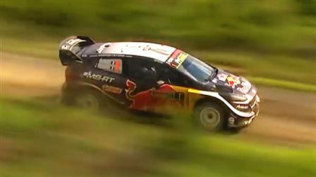 航拍WRC高速过弯集锦