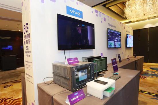 vivo首次公开展示5G手机 微信等常用应