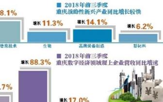 2018重庆经济:总体平稳 数字经济蓬勃发展