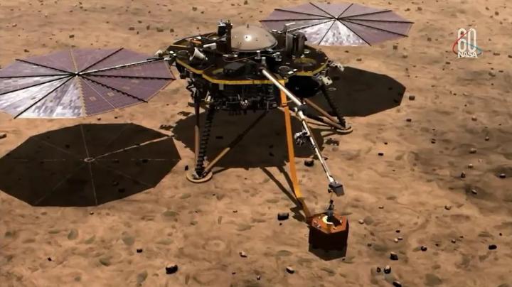 洞察号火星探测器成功着陆后? 接下来