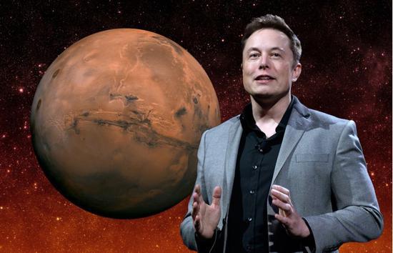 马斯克:自己有70%的机会去火星定居