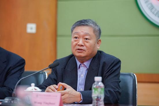 中山大学新华学院校长王庭槐致欢迎辞