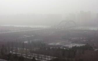 冷空气过境 大同浮尘天气将有所好转
