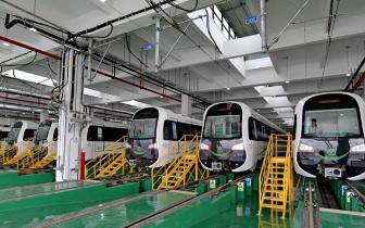 """福州地铁2号线""""高大上"""" 明年1月31日全线试运行"""