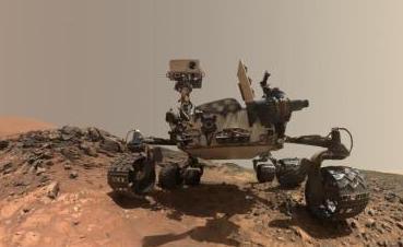 """火星无人探测器""""洞察""""号成功登陆火星"""