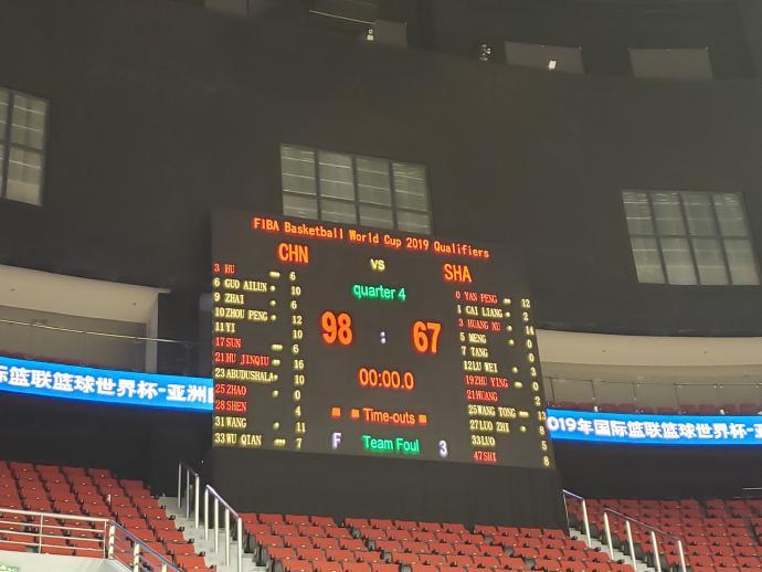 大战将至!上海队送来祝福 中国男篮测试赛小试牛刀