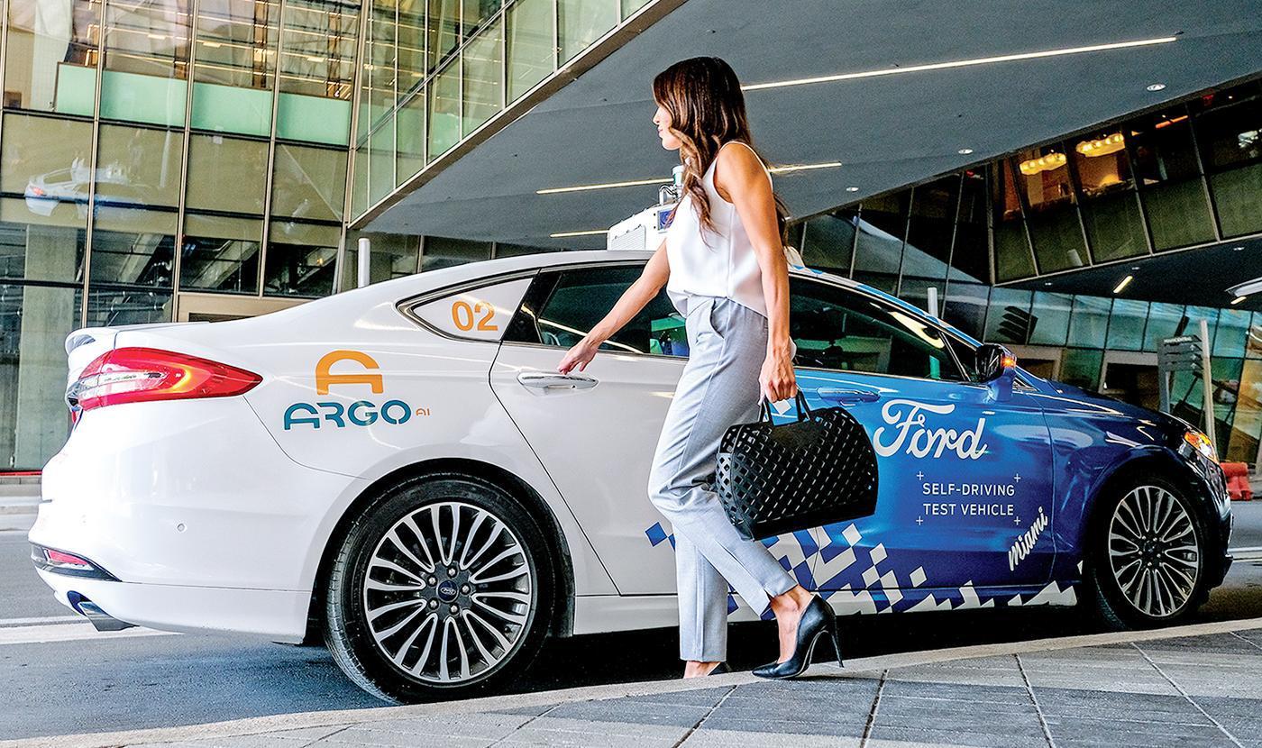 为2021年实现商用 福特加快迈阿密自动驾驶测试
