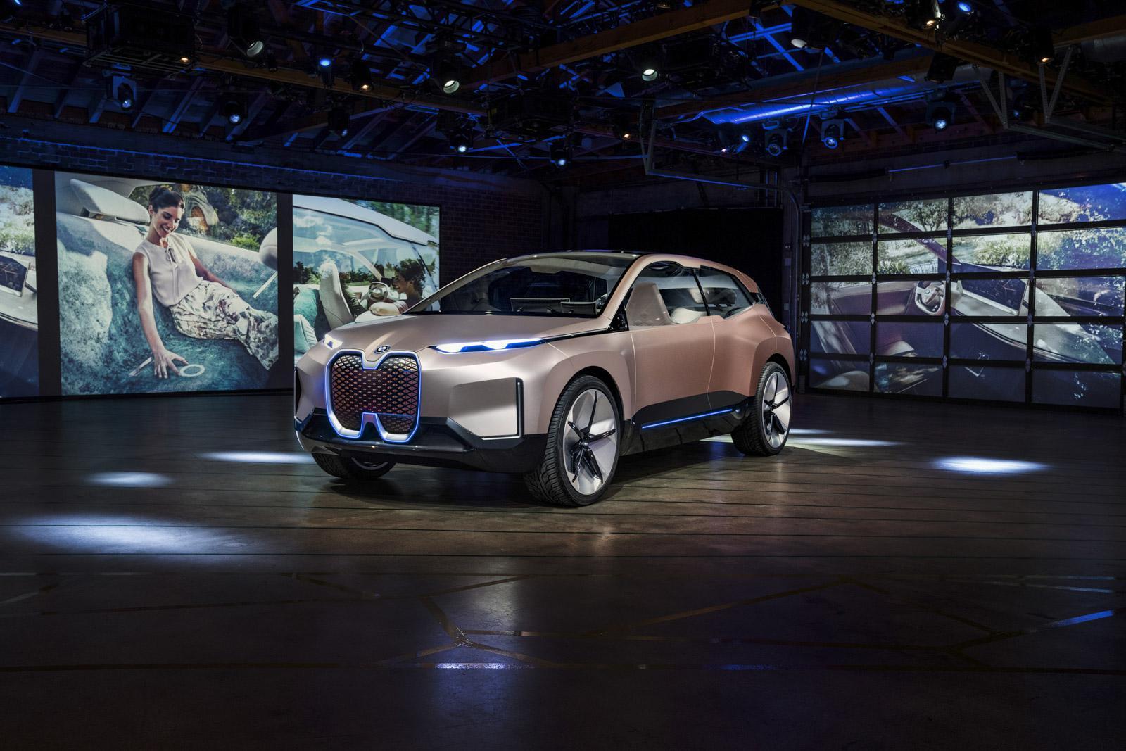 BMW Vision iNEXT计划发布 续航无忧EV