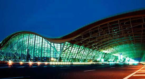 资料图:浦东机场