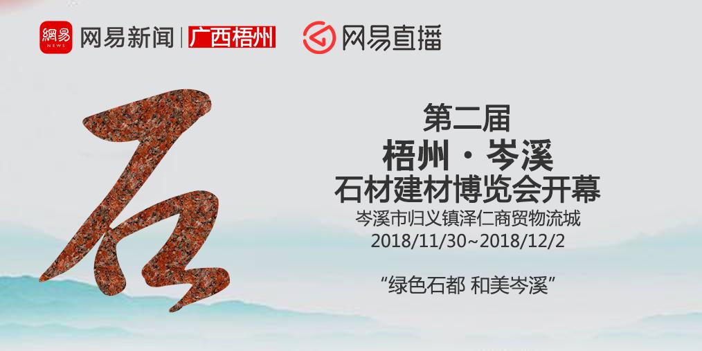 第二届梧州·岑溪石材建材博览会开幕
