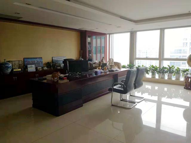 刘立荣的办公室显得空空荡荡(第一财经记者摄影)