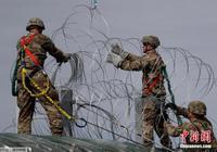 """多数美国人认为""""大篷车移民""""威胁国家安全"""