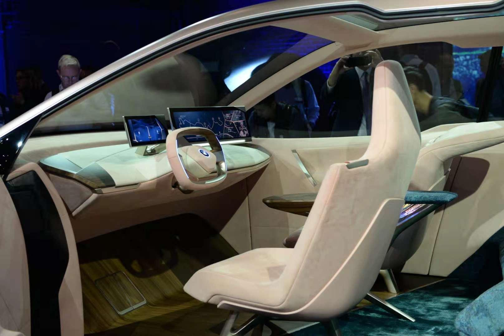 BMW Vision iNEXT计划发布 续航无忧电动车