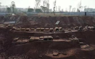 壮观!自贡发现明代家族墓,上下三层横向延伸数十米