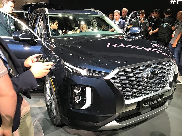 预计明年上市 现代PALISADE中大型SUV发布