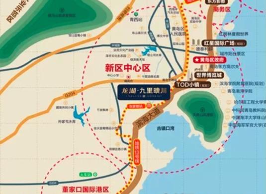 西海岸进入地铁时代 1号线+13号线地铁盘抢先看