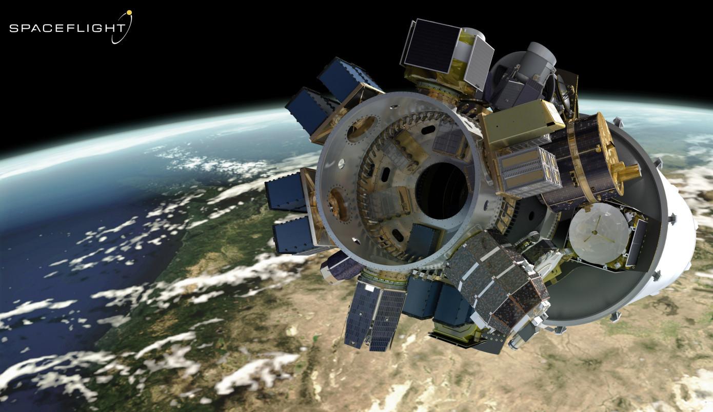 Spaceflight将升空 为34家客户部署64颗卫星