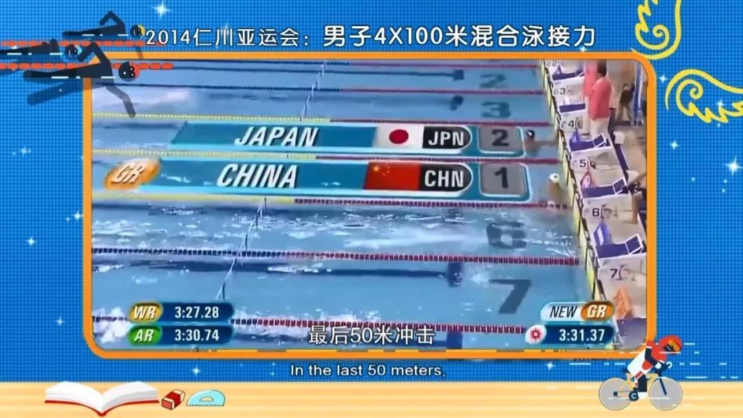 亚运大逆转之游泳项目