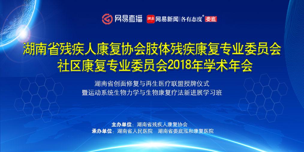 湖南省残疾人康复协会2018年学术年会