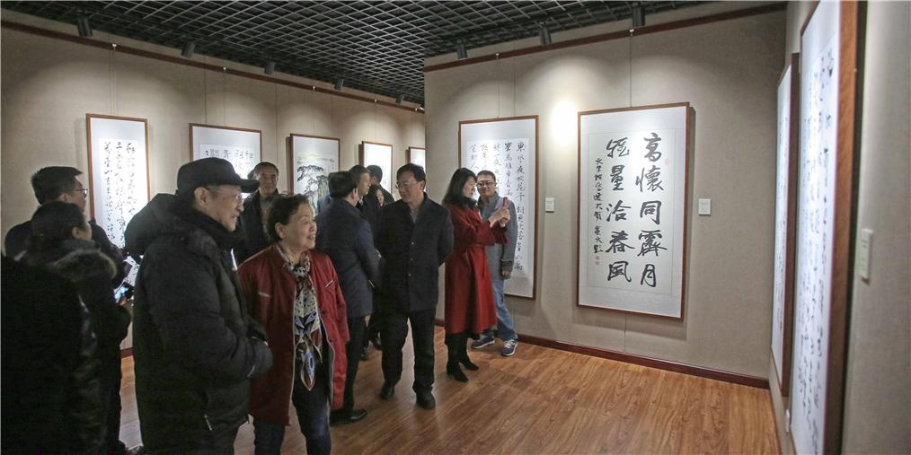 沈阳庆祝改革开放40周年书画作品展开展
