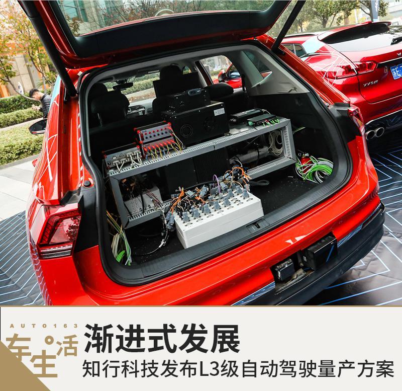 渐进式发展 知行科技发布L3级自动驾驶量产方案