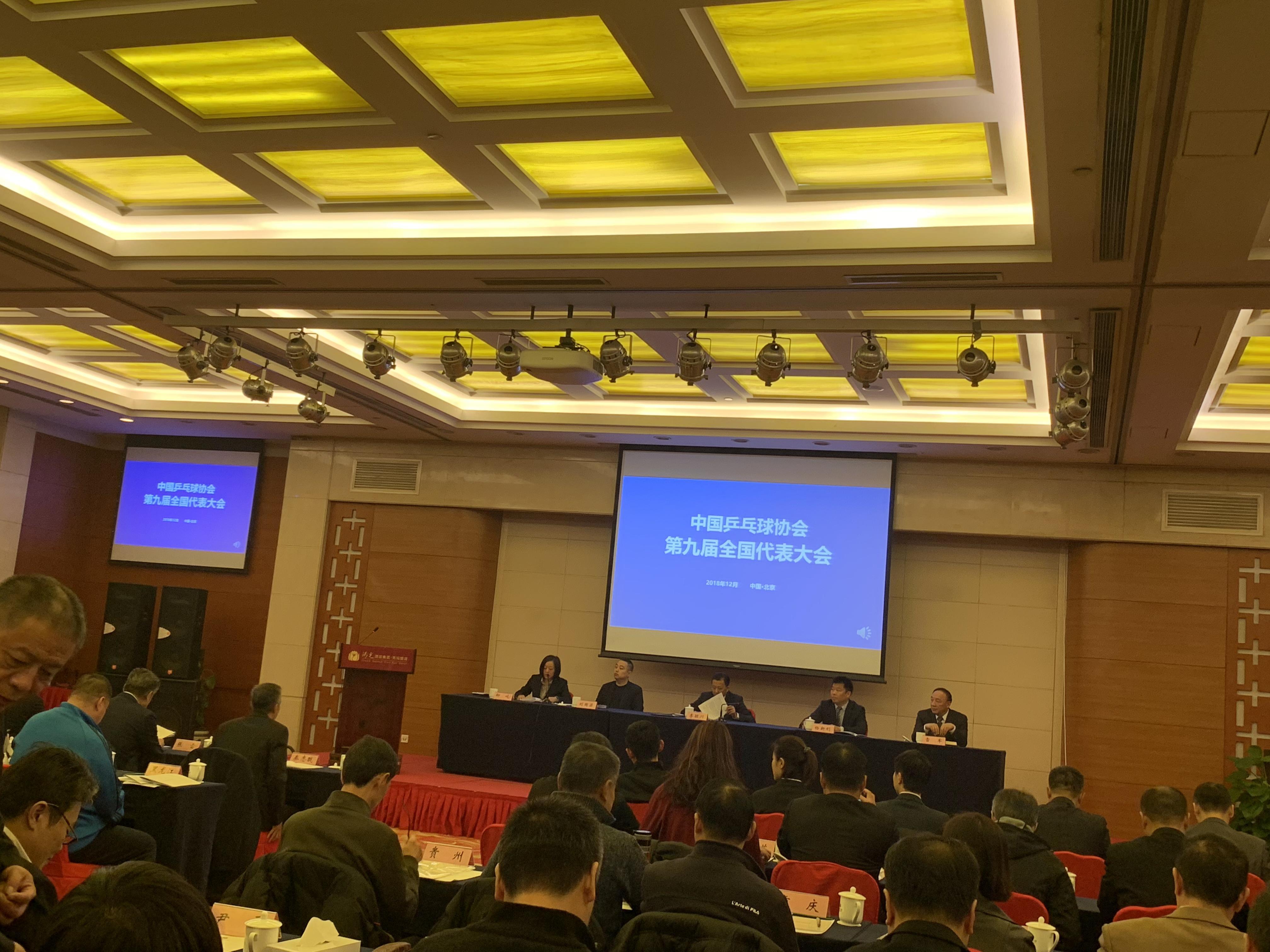 刘国梁当选新一届中国乒协主席 王励勤任副主席