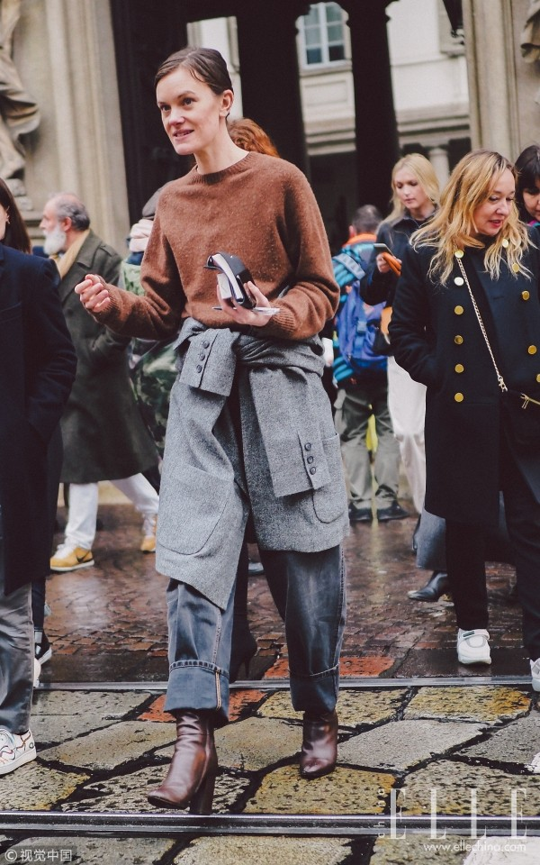 冬天,牛仔裤的正确打开方式是…