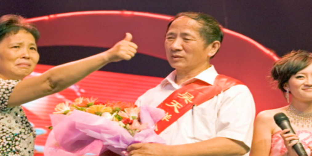 全国道德模范吴天祥来孝感传播正能量