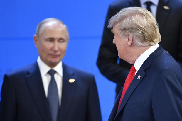 美俄元首G20无互动 特朗普径直走过普京身边未握手