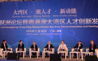 第11届琶洲论坛暨粤港澳大湾区人才创新发展大会举行