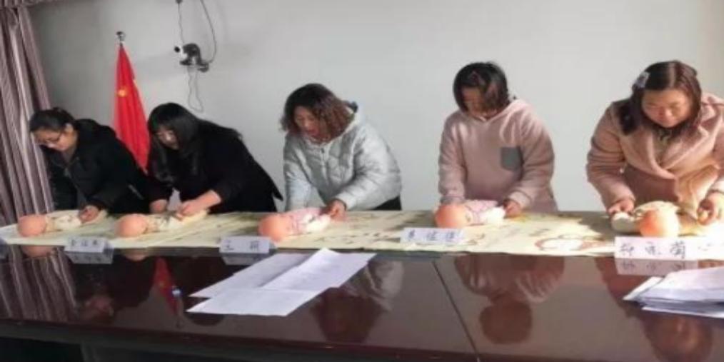 龙湾镇妇联首届育婴师培训班顺利结业