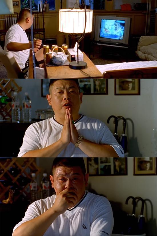 电影《没完没了》傅彪饰演的角色看女足决赛,美国夺冠后流泪的这一幕,何尝不是中国球迷的缩影
