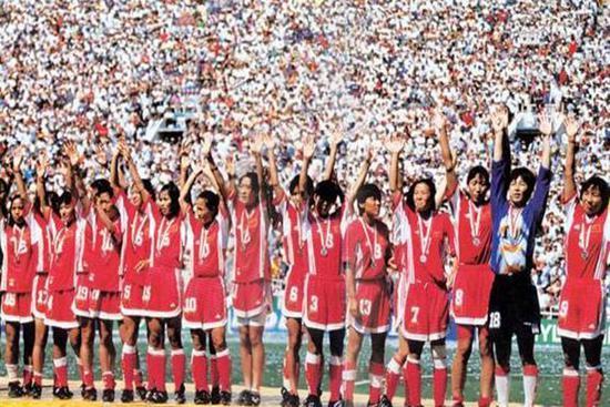 那一年,中国差点拿下世界杯冠军